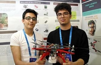 Liselilerden 'tarım dostu drone' ile artık tarım daha kolay!