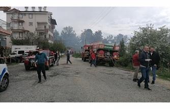 Manavgat korkutan orman yangını