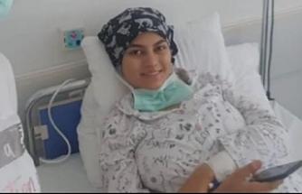 Tıp öğrencisi Azra hayata yeniden merhaba dedi!