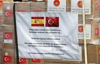 Türkiye'den İspanya ve İtalya'ya tıbbi malzeme yardımı