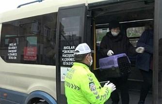 Yasağa uymayan minibüsün şoförüne 789 TL ceza!