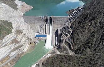 Avrupa'nın en büyüğü Çetin Barajı'nda enerji üretimi başladı