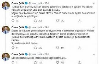 AK Partili Çelik:Millet eksenli siyaset, insan odaklı sağlık politikası