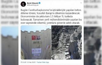Bakan Albayrak'tan, 'Yusufeli Barajı' açıklaması