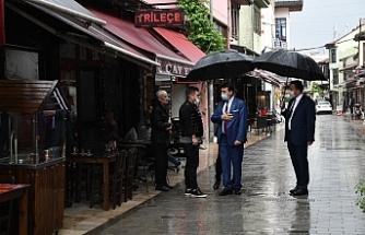 Başkan Dündar'dan İlk Gün Ziyareti