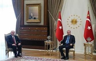 Cumhurbaşkanı Erdoğan Yargıtay Başkanı Akarca'yı kabul etti