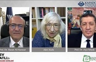 Milli Eğitim Bakanı Selçuk, Alev Alatlı ile Kapadokya Üniversitesi'nin canlı yayın konuğu oldu