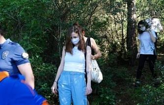 Ormanda yollarını kaybeden 3 genç kızın imdadına AFAD ekipleri yetişti!