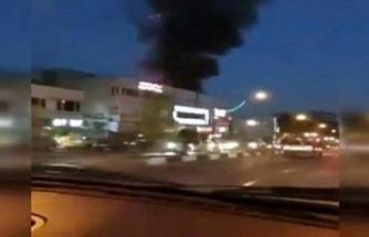 Tahran'da patlama! Çok sayıda ölü var