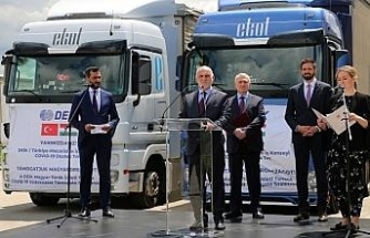 Türk firmalardan Covid-19 mücadelesinde Macaristan'a dev destek