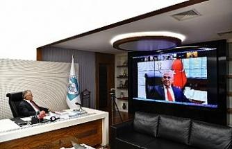 Başkan Büyükkılıç, pandemi kurulu toplantısına katıldı