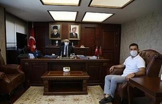 Başkan Günel, İzmir'de ziyaretlerde bulundu