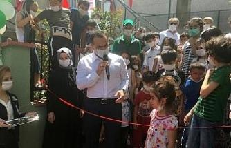 Başkan Yıldız, Mahalle Bahçesi'ni çocuklarla birlikte açtı
