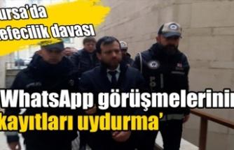 Bursa'da 9 sanığın yargılandığı suç örgütü davası devam ediyor