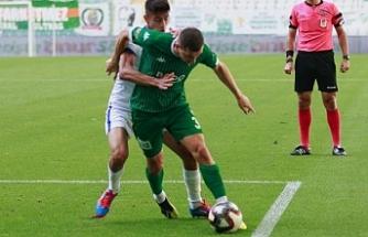 Bursaspor - Ekol Göz Menemenspor: 2-2 berabere kaldı