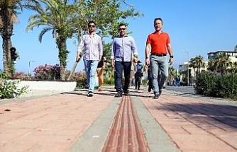 Dinek'ten Kargıcak'a kesintisiz bisiklet yolu çalışmaları
