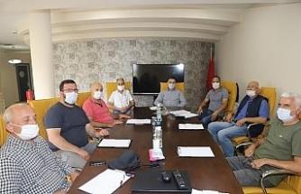 Düzce TSO Orman ürünleri üyeleri, Orman Bölge Müdürü ile bir araya geldi