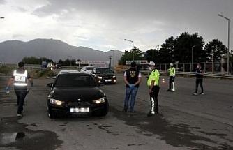 Erzincan polisinden 'Huzur Uygulaması'