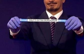 Frutti Extra Bursaspor'un Euro Cup'taki rakipleri belli oldu!