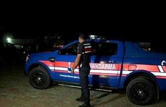 Kilyos'ta jandarma ekipleri denetimlerde bulundu