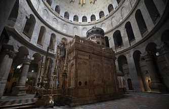 Kudüs'teki Kıyamet Kilisesi yeniden ibadete kapatıldı