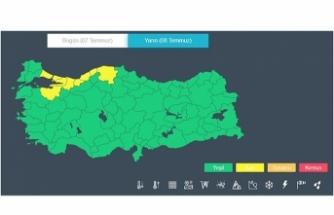 Meteorolojiden yarın Bursa için 'sarı' uyarı verildi!