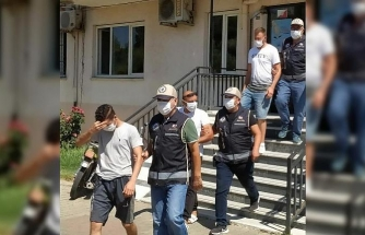 Nazilli'de, aranan 11 şüpheli yakalandı