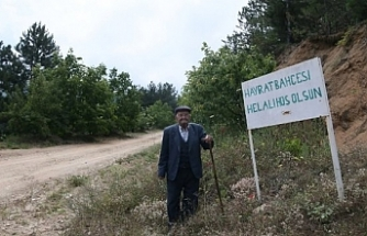 Orhaneli'nde sebze ve meyveler 23 yıldır ücretsiz