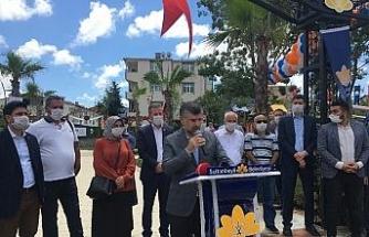 Sultanbeyli'de Adnan Menderes Parkı kapılarını açtı