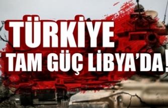 Türkiye tam güç Libya'da! .