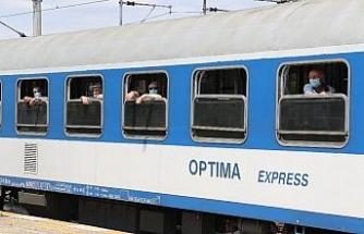 Villahch-Edirne treni Kapıkule'de
