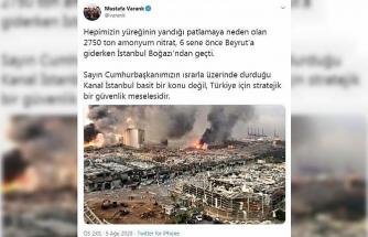 Bakan Varank: Kanal İstanbul, Türkiye için stratejik güvenlik meselesi