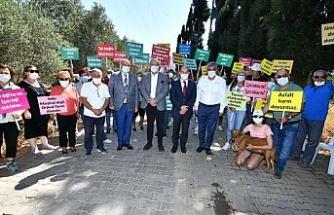 """Başkan Tunç Soyer: """"Burası tarım arazisi olarak Güzelbahçe'de varlığını korumaya devam edecek"""""""