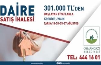 Bursa Osmangazi Belediye Başkanlığından gayrimenkul satışı