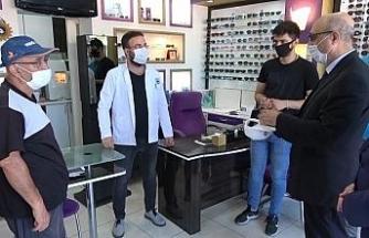 Pilot il Kırıkkale'de 'korona virüs' denetimi başladı