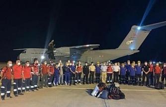 Türkiye'den Lübnan'a tıbbi yardım ve arama-kurtarma ekibi desteği (3)