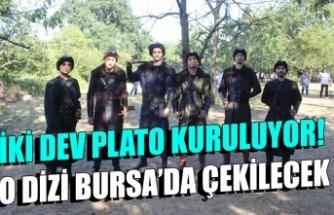 Türklerin Ergenekon destanını anlatan dizi Bursa'da çekiliyor