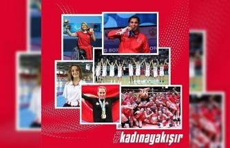 Türkoğlu'ndan kadın sporculara destek