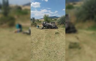 Uşak'ta trafik kazası; 4 yaralı
