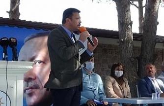 """AK Partili Hamza Dağ:  """"Bugün, kafasını sürekli bastırmış oldukları bu millet uyandı"""""""