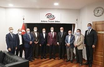 """ATO Başkanı Baran: """"Ankara'da sağlık turizmini geliştirmek için TÜRSAB'dan destek bekliyoruz"""""""