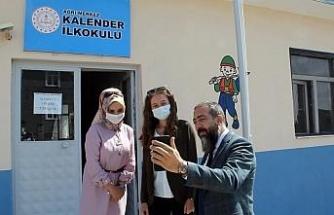 Bakan Prof. Dr. Selçuk, Ağrı'da görev yapan köy öğretmenleriyle görüştü