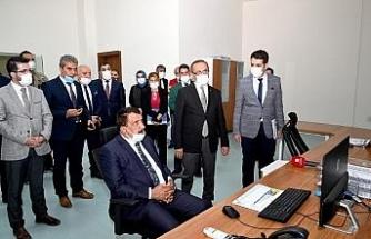 Başkan Gürkan'a scada brifingi