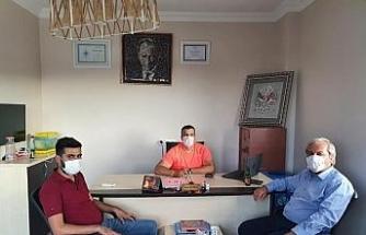 Başkan Şahin'den geri dönüşüm tesisine ziyaret