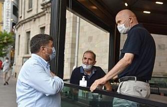 Belediye Başkanı Şenlikoğlu, esnaf ziyaretlerini sürdürüyor