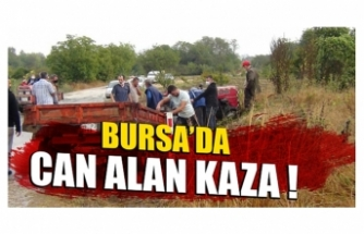 Bursa'da can alan kaza !