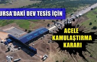 Bursa'daki TOGG tesisi için acele kamulaştırma