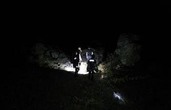 Dağlık alanda mahsur kalan 4 genç AFAD tarafından kurtarıldı