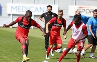 Demir Grup Sivasspor, MKE Ankaragücü hazırlıklarını sürdürdü