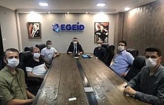 EGEİD'ten uzaktan eğitime katılamayan öğrencilere bilgisayar desteği